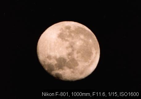ノア流星群の神々-月