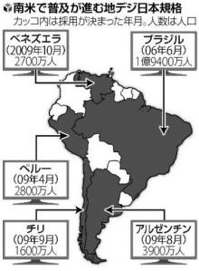 ノア流星群の神々-南米の地上デジタル