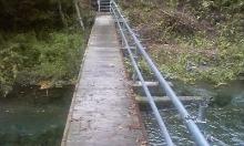 ノア流星群の神々-吊り橋