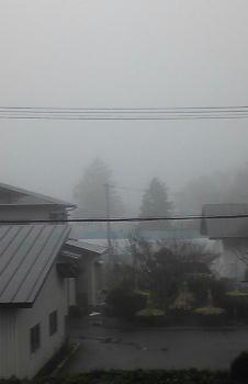 ノア流星群の神々-霧