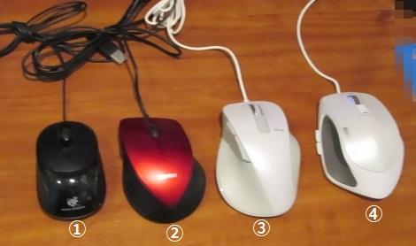 あれこれマウスの変移