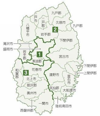 本州最大の岩手選挙区